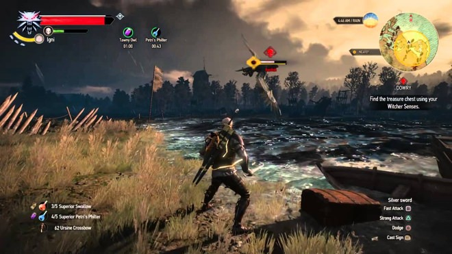 Red skull enemy in Witcher 3
