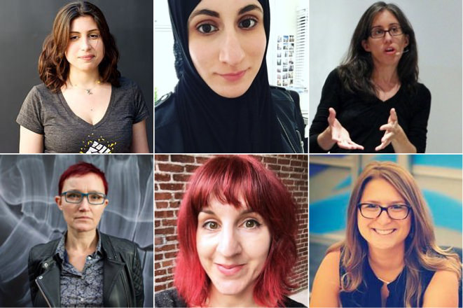 Multiple women designers
