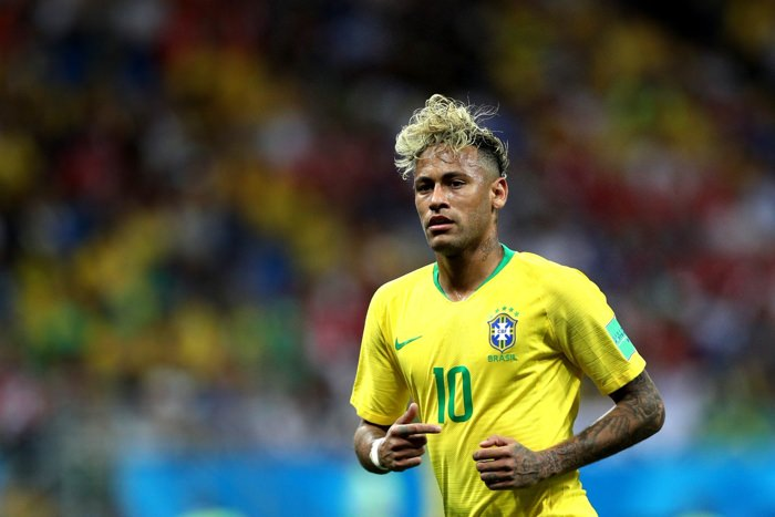 Brazilian football superstar Neymar Jr