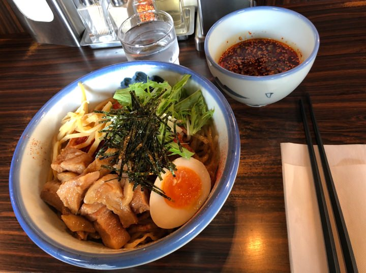 Ramen meal at restaurant Afuri