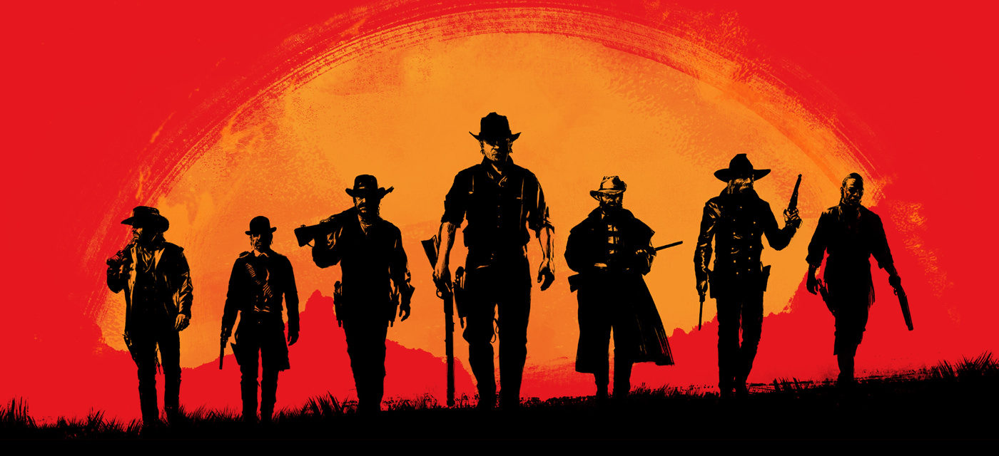 Offical red Dead Redemption 2 artwork