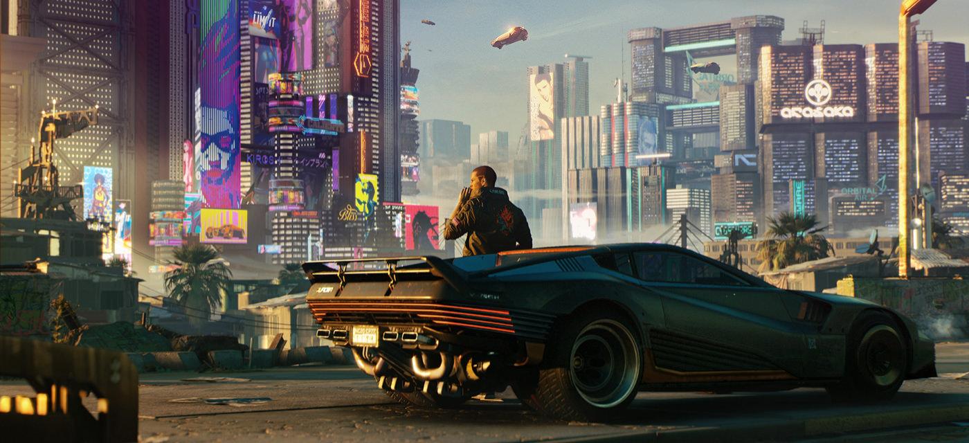 Promo artwork for Cyberpunk 2077